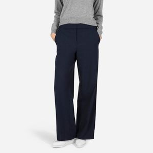 The Slouchy Wide Leg Pant - Black